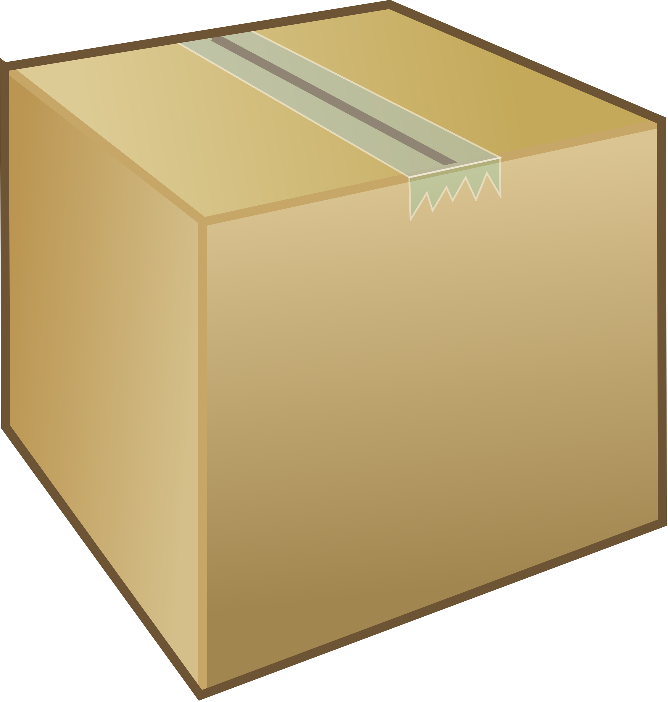 Crafty design cardboard boxes. Clipart box stacked box