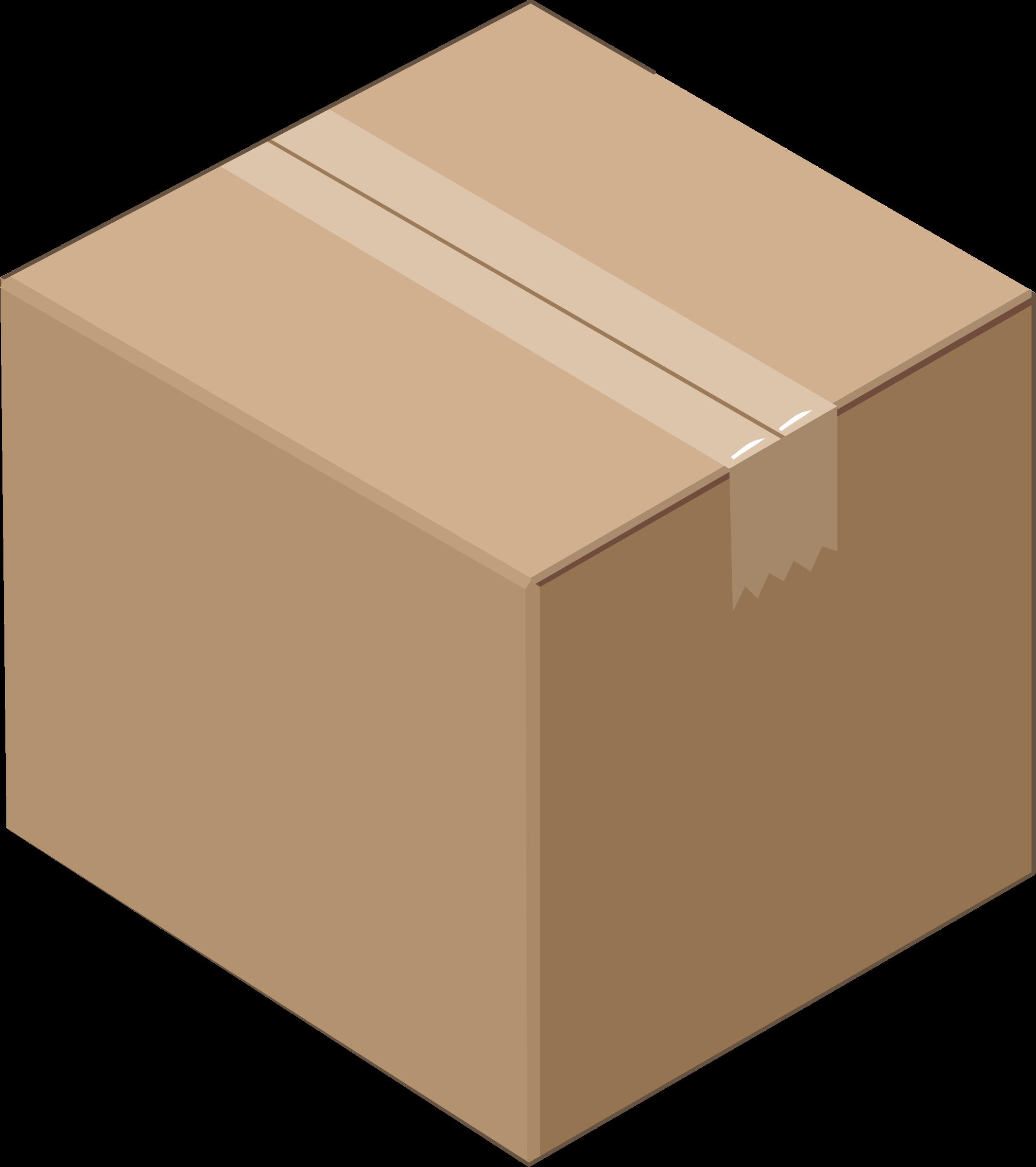 collection of boxes. Clipart box carton box