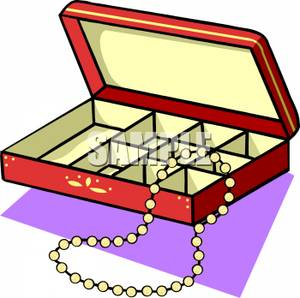 Necklace animated pencil and. Boxes clipart cartoon