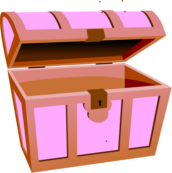 Free treasure box download. Hunting clipart file