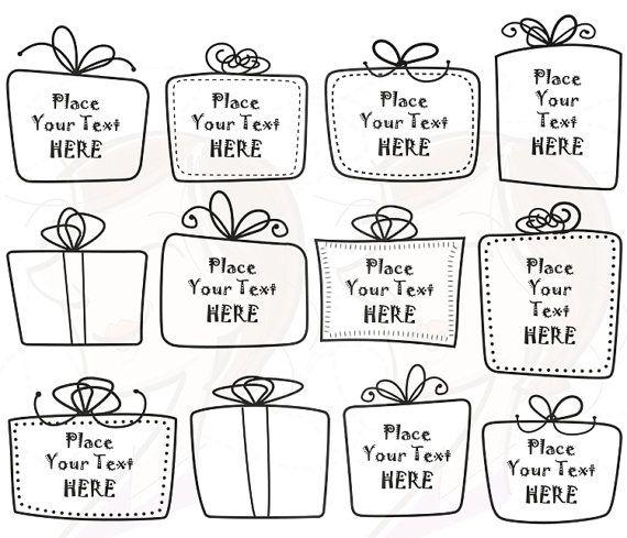 Teacher handdrawn whimsical cute. Boxes clipart doodle