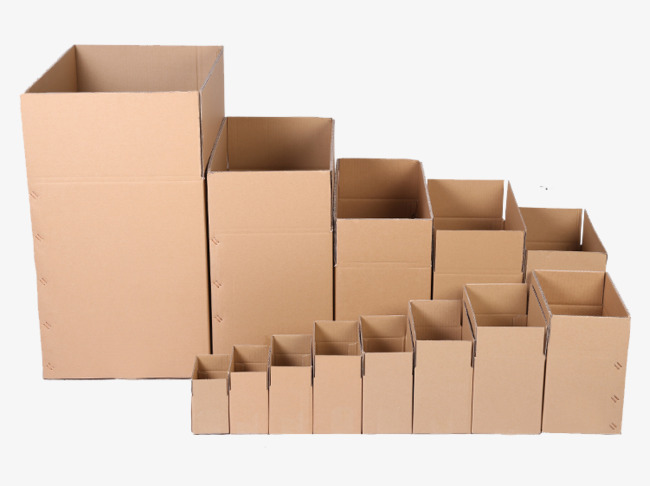 Boxes clipart empty box. Various types of material