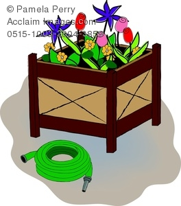 Box stock photography acclaim. Boxes clipart flower