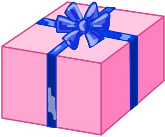 Boxes clipart gift. Christmas birthday box candy