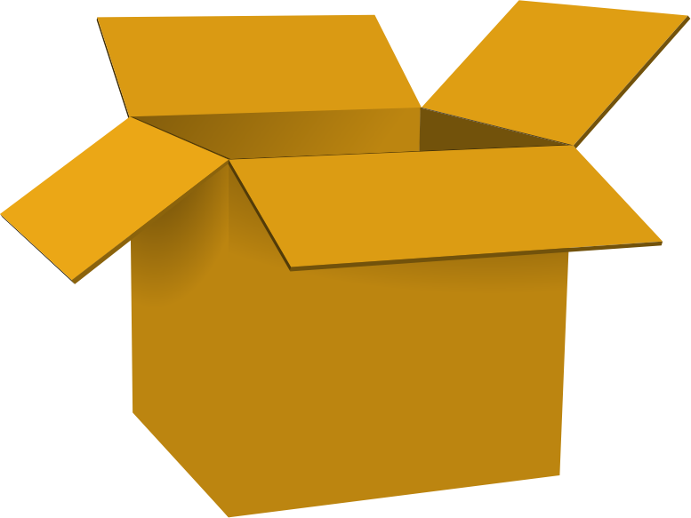 collection of boxes. Clipart box stacked box