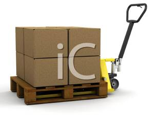 Picture the side of. Boxes clipart pallet