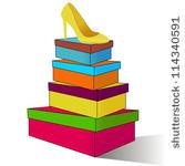 Box clipart shoe box. Panda free images shoeboxclipart