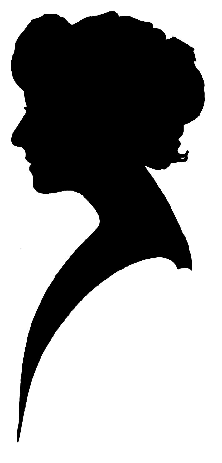 Box silhouette at getdrawings. Aunt clipart ladies group