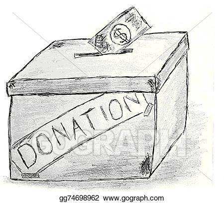 Vector art hand draw. Boxes clipart sketch
