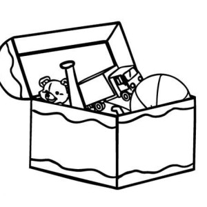 Boxes clipart sketch.  collection of toy