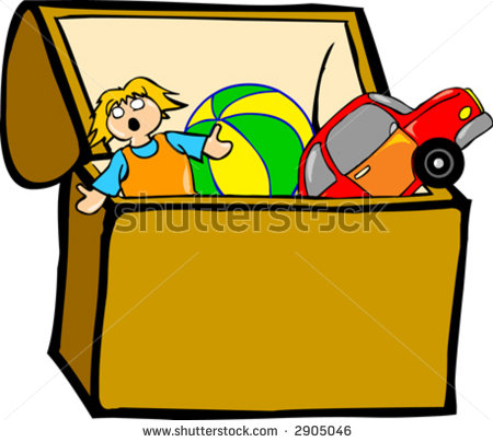boxes clipart toy