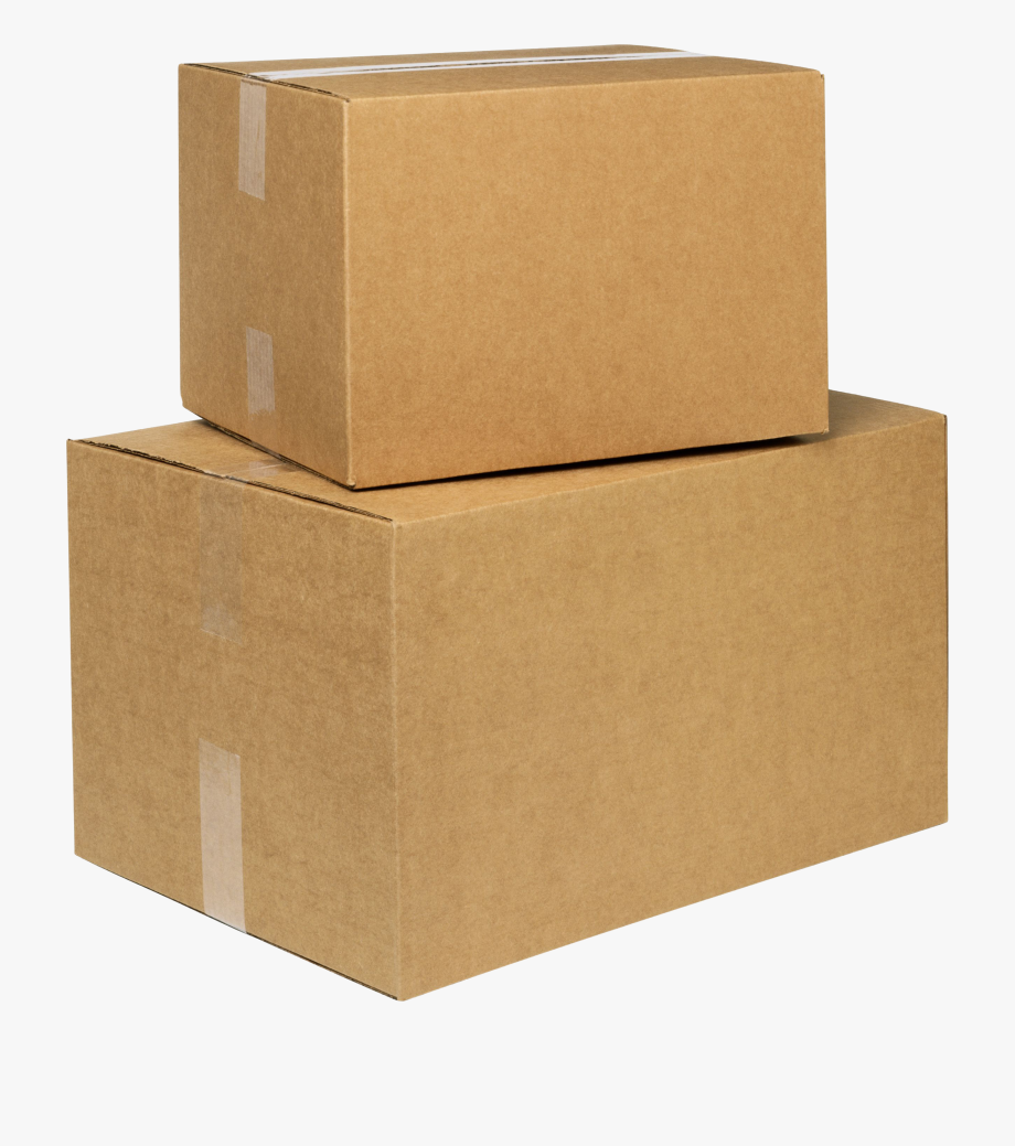 Box background cardboard png. Boxes clipart transparent