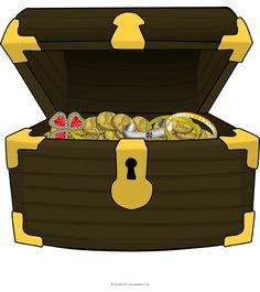 Boxes clipart tresure. Treasure stock illustration of