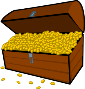 Treasure box clip art. Boxes clipart tresure