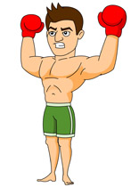 Boxer clipart boxing. Sports free to download