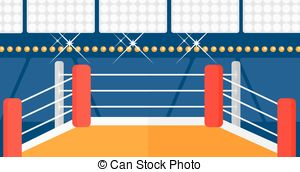 Ring clip art library. Boxing clipart background