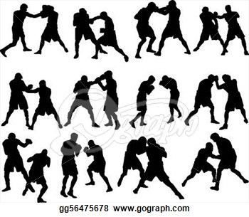 Boxing clipart background. Panda free images