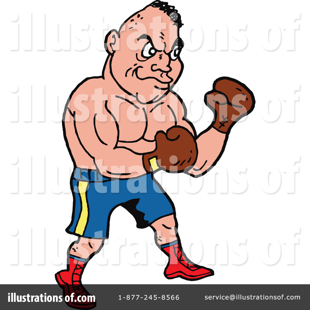 Illustration by lafftoon royaltyfree. Boxing clipart boxing fight