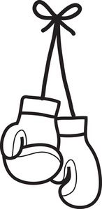 Boxing clipart boxing glove. Clip art women s