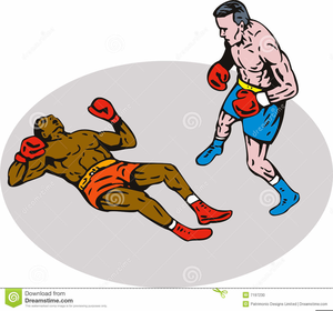Boxing clipart boxing knockout. Free images at clker