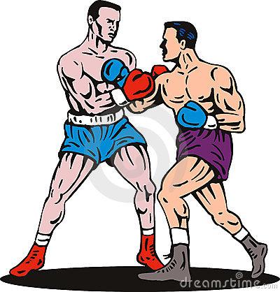 Boxing clipart boxing match. Clip art images panda