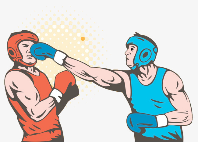 Boxer fighting game png. Boxing clipart boxing match