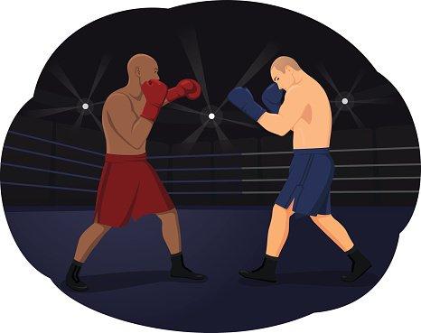 Boxing clipart boxing match. Premium clipartlogo com