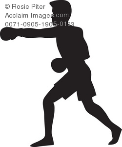 Boxing boxing player