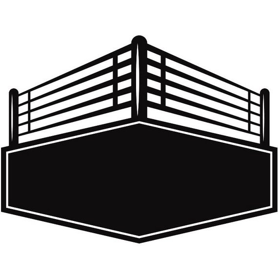 Boxing clipart boxing ring. Station