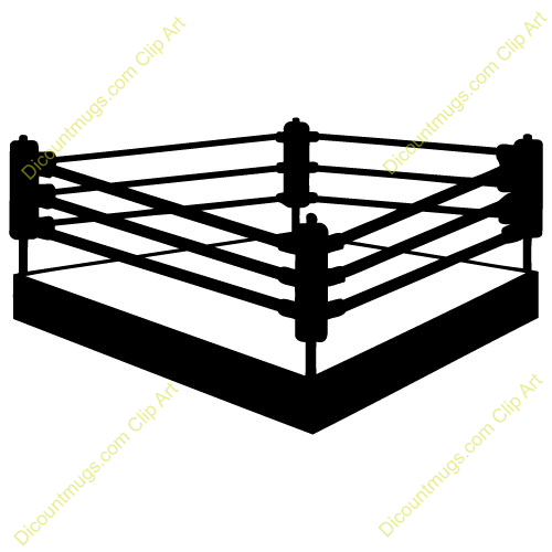 . Boxing clipart boxing ring