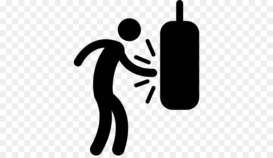 Punching bags sport computer. Boxing clipart boxing training