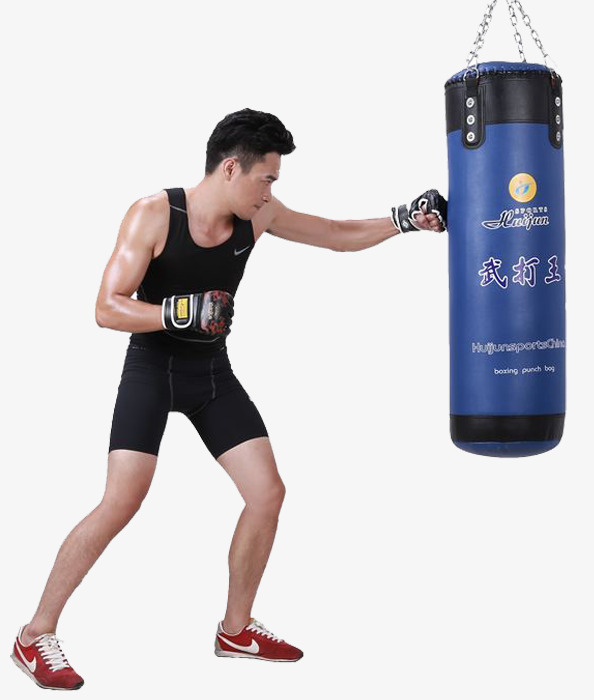 Boxing clipart boxing training. Explosive sandbags force png