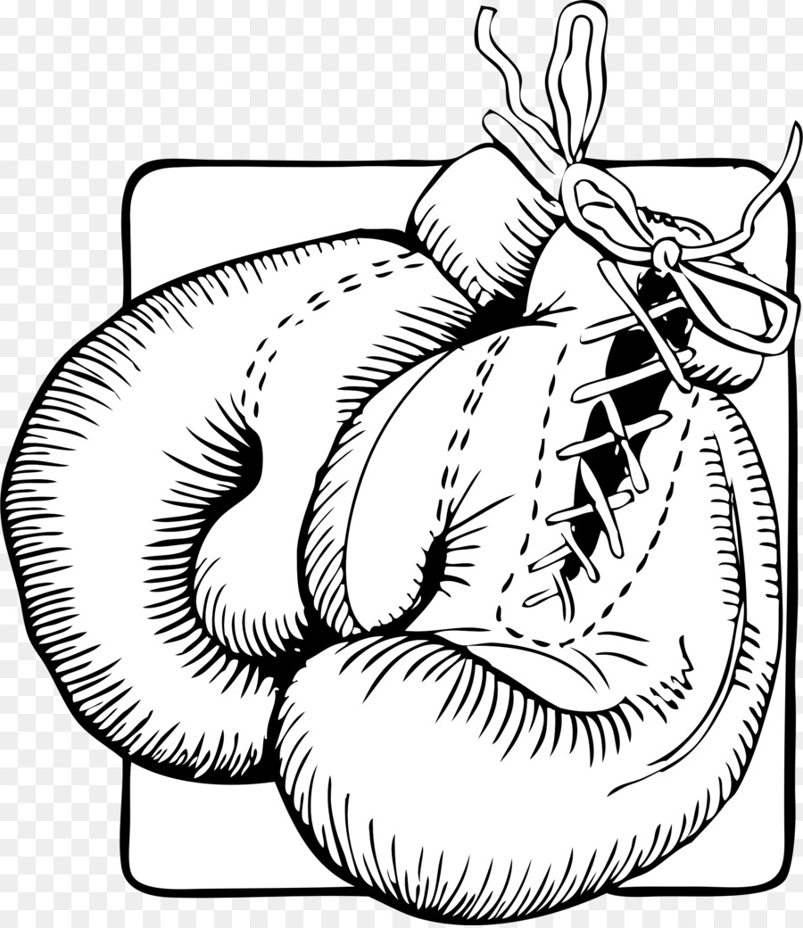 Glove punching bags clip. Boxing clipart boxing training