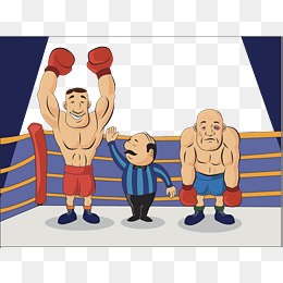 Boxer clipart boxing winner. Match png images vectors