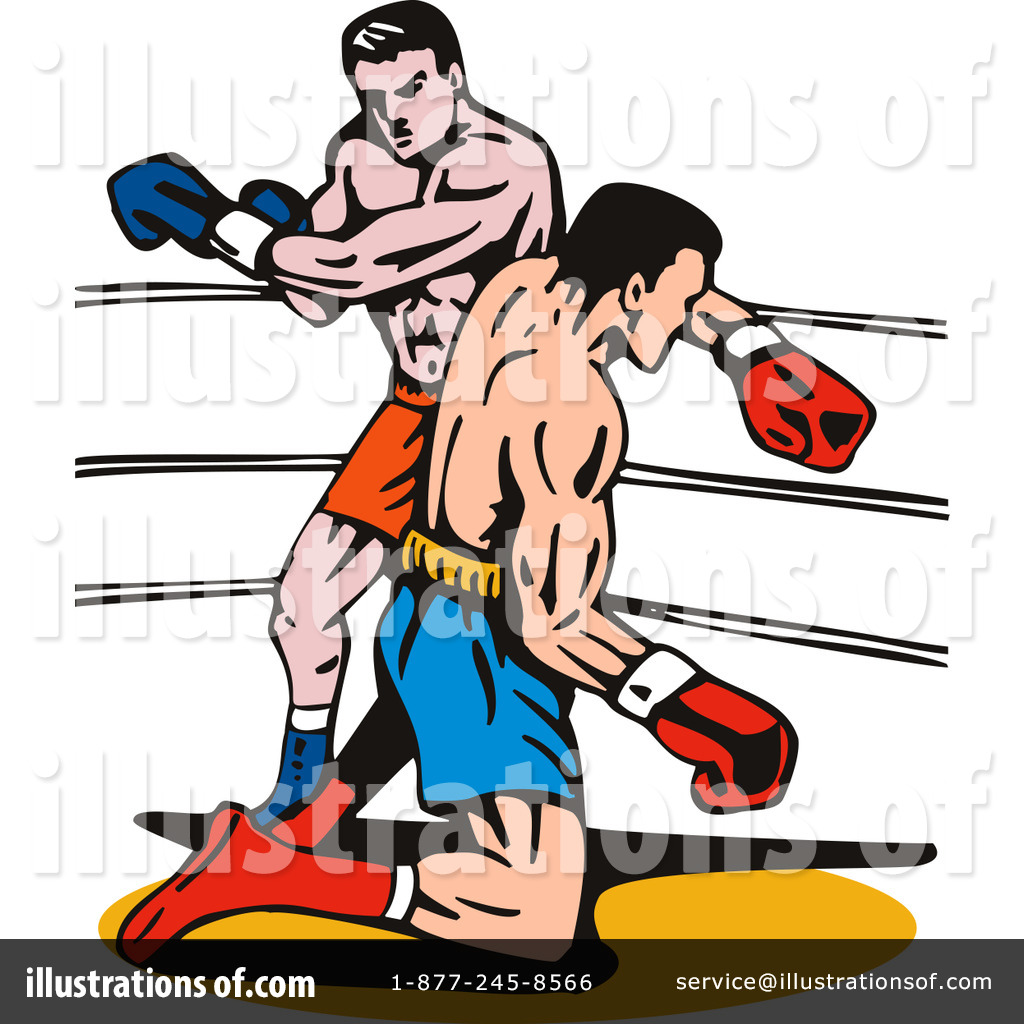 Boxing illustration by patrimonio. Boxer clipart cartoon