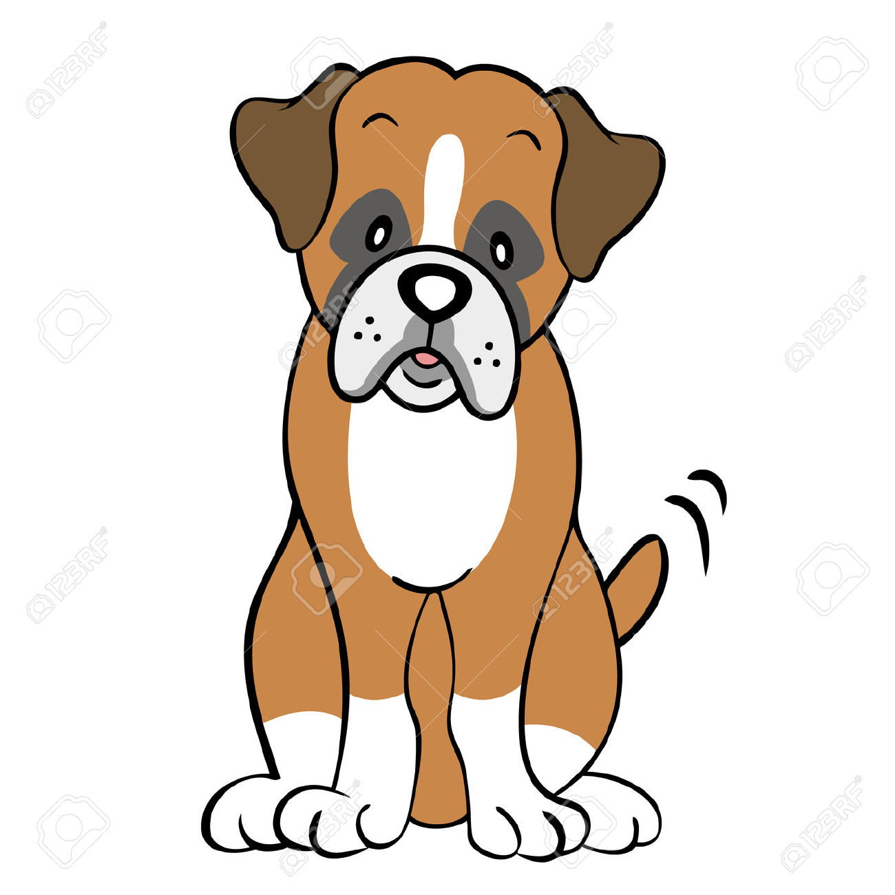 Free download best on. Boxer clipart cartoon