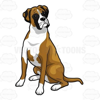 Image result for dog. Dogs clipart boxer