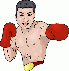 Boxing clipart fighter. Cliparts zone