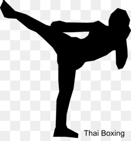 Free download muay thai. Boxing clipart kick boxing