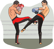 Boxing clipart kick boxing. Search results for clip