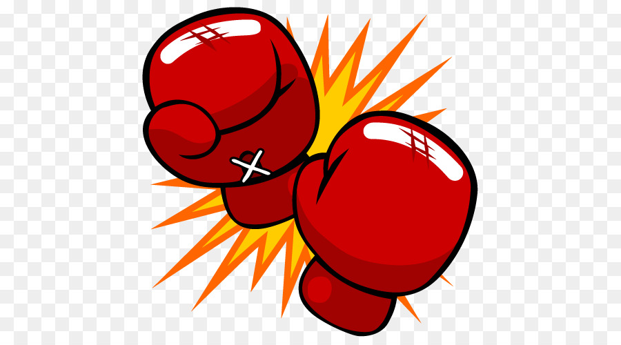Boxing glove cartoon punch. Boxer clipart kickboxing