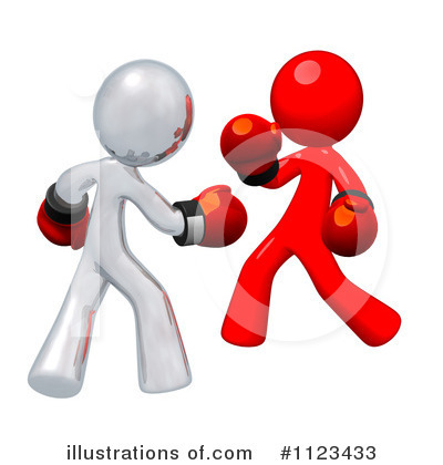 Illustration by leo blanchette. Boxing clipart symbol