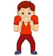 Free panda images boxingclipart. Boxer clipart boxing