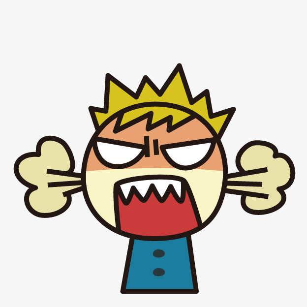 Boy clipart angry. Cartoon png image and