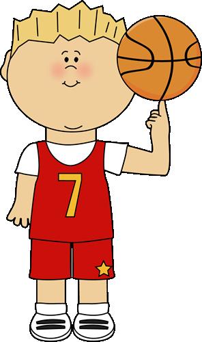 Boy clipart basketball player. Balancing ball on finger