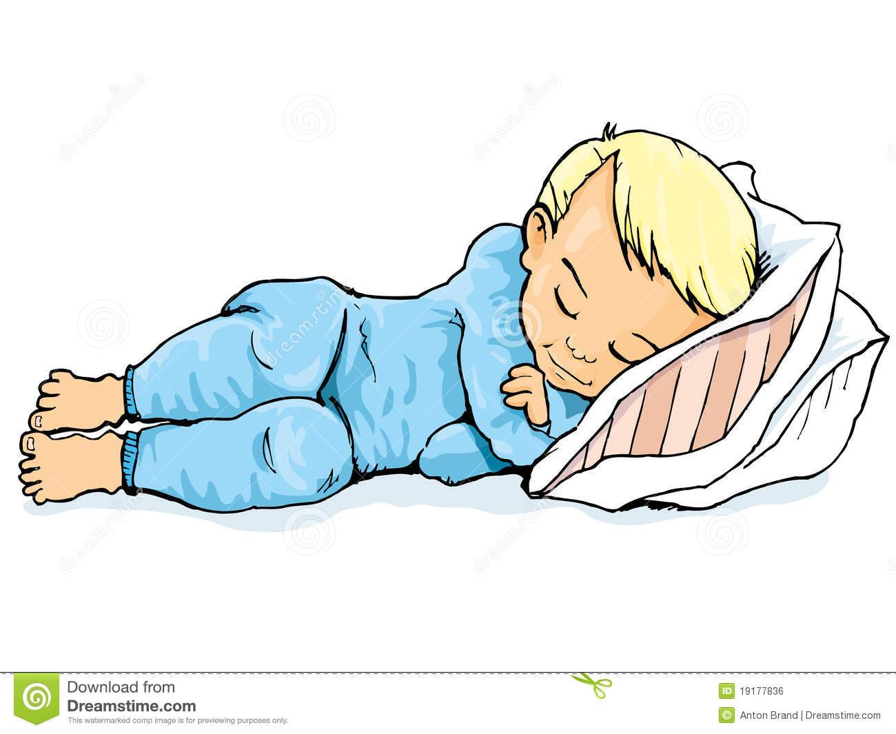 Boy clipart bedtime. Sleep cartoon images group