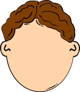 Boys clipart brown hair. Boy clip art at