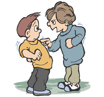 Do children with adhd. Bully clipart bully victim