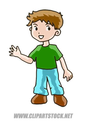 . Boy clipart cartoon
