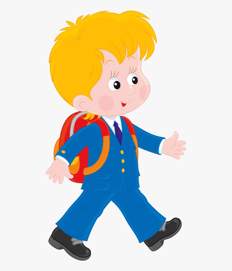 Boy clipart cartoon. Children working at school